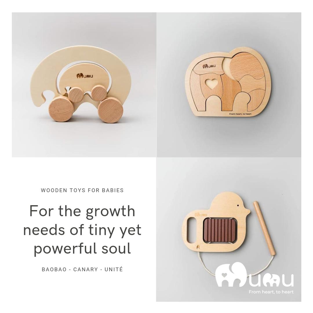 Parents' review : wooden toys for babies bundle