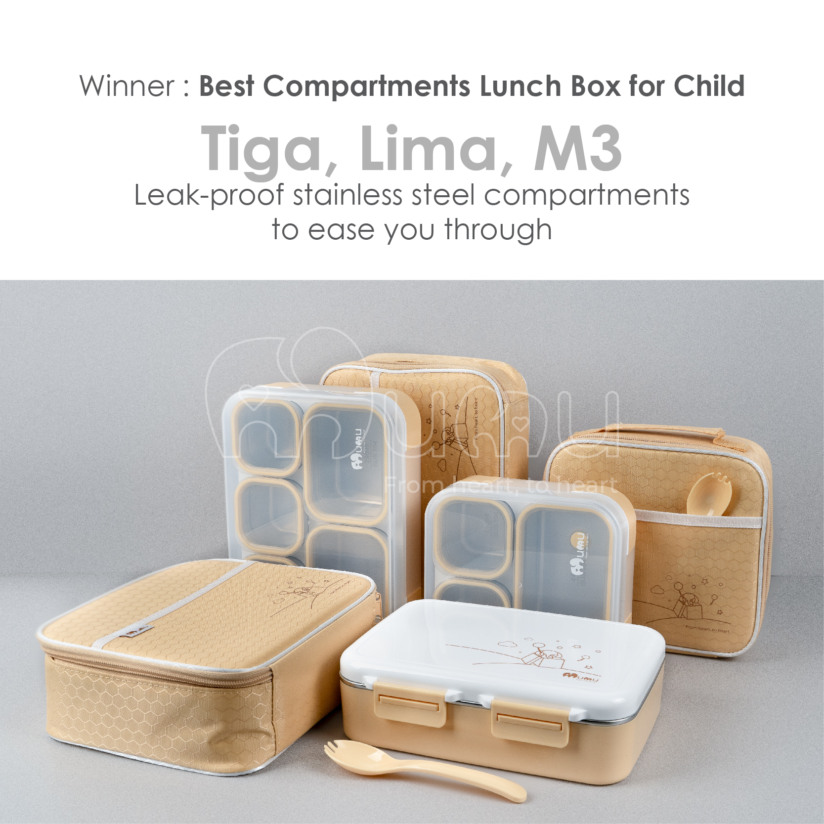 Parents' review : Compartments Lunch Box